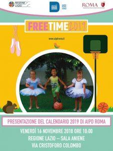 calendario aipd roma 2019